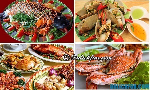 Những món ăn ngon tại Cát Bà đáng thưởng thức: tu hàu, tôm, mực...Kinh nghiệm du lịch Cát Bà hấp dẫn bổ ích