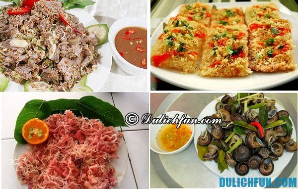 Ninh Bình nổi tiếng với nhiều món ăn ngon hấp dẫn du khách như thịt dê, cơm cháy, gỏi cá nhệch, ốc núi là những món ăn khó quên