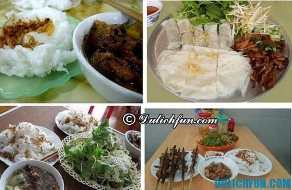 Bánh cuốn chả nướng Phủ Lý món bánh đặc sản tại Hà Nam thu hút hấp dẫn và nổi tiếng tại Hà Nam
