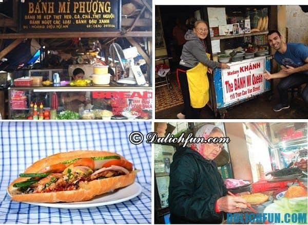 Bánh mì Hội An thơm ngon, giòn rụm là đặc sản nổi tiếng của Quảng Nam