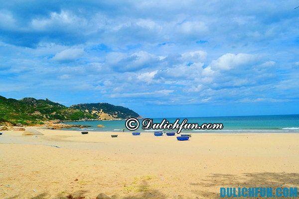 Biển Nhơn Lý, Bình Định là một trong những địa điểm đẹp ở Bình Định