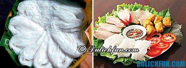 Bún Tái Kênh trở thành đặc sản của người Hà Nam, bún trắng, mịn, thơm ngon được nhiều người ưa chuộng