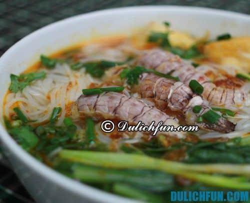 Bún bề bề đặc sản Quảng Ninh thơm ngon hấp dẫn. Bề bề chắc thịt, ngọt, thơm giàu giá trị dinh dưỡng