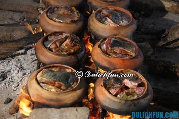 Cá kho niêu làng Vũ Đại món ăn ngon đặc trưng của người Hà Nam được chế biến công phu và cầu kỳ, thơm ngon.