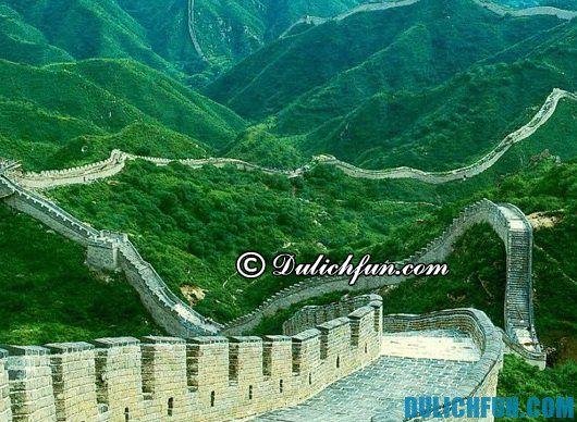 Kinh nghiệm du lịch Trung Quốc - Cẩm nang du lịch Trung Quốc giá rẻ: những địa điểm du lịch nổi tiếng của Trung Quốc