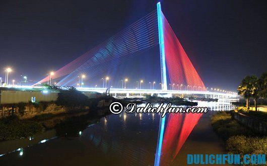 Những cây cầu hấp dẫn khách du lịch ở Đà Nẵng