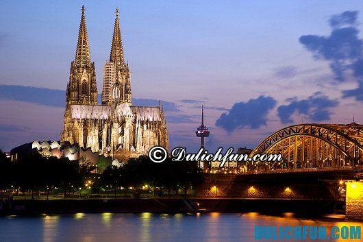 Chia sẻ kinh nghiệm vui chơi tham quan Đức: Thành phố nổi tiếng ở Đức - Kinh nghiệm du lịch Đức giá rẻ
