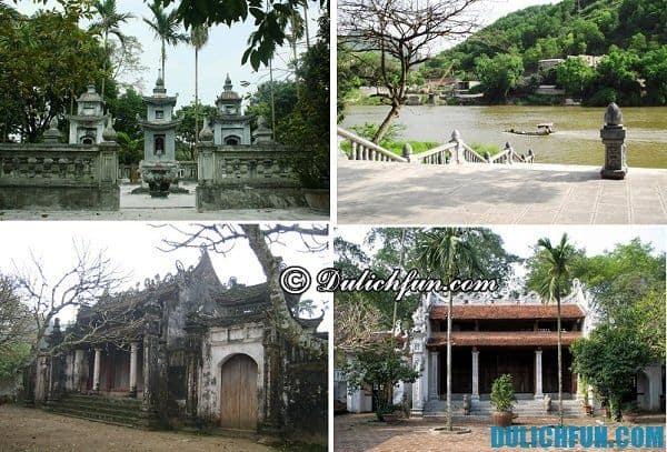 Chùa Bà Đanh- địa điểm du lịch nổi tiếng nhất Hà Nam, phong cảnh sơn thủy hữu tình.