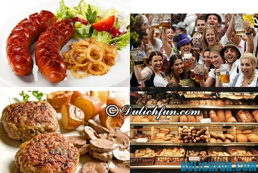 Đặc sản du lịch của Đức: Món ăn ngon nổi tiếng nhất ở Đức - Kinh nghiệm du lịch Đức giá rẻ