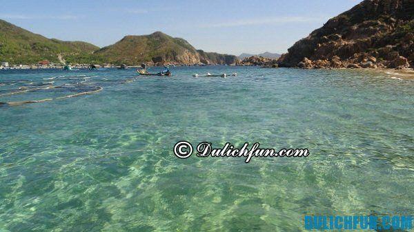 Đảo Hòn Khô, Bình Định, địa danh đẹp và nổi tiếng.