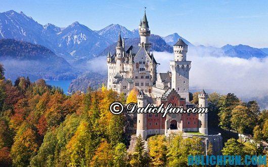 Địa điểm du lịch nổi tiếng ở Đức: Những lâu đài cổ kính tráng lệ nhất ở Đức - Kinh nghiệm du lịch Đức giá rẻ