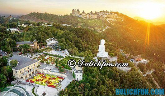 Địa điểm hấp dẫn khách du lịch nhất ở Đà Nẵng