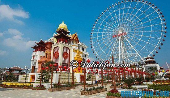 Địa điểm tham quan giải trí ở công viên Châu Á Đà Nẵng