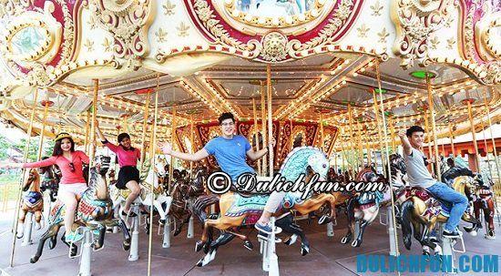 Địa điểm vui chơi giải trí ở Asia Park Đà Nẵng hấp dẫn nhất