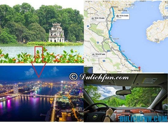 Du lịch Hà Nội - Đà Nẵng - Hà Nội bằng ô tô xe máy: Hướng dẫn lịch trình du lịch Đà Nẵng từ Hà Nội bằng ô tô, xe máy