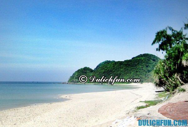 Du lịch đảo Quan Lạn, hấp dẫn bởi biển xanh, cát trắng,bãi biển hoang sơ