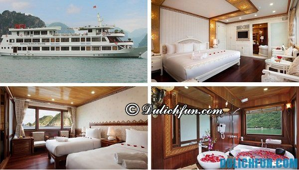 Khách sạn trên du thuyền sang trọng mang lại cảm giác thư giãn cho người sử dụng, thích hợp cho nghỉ dưỡng