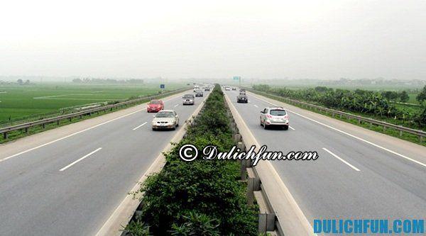 Cao tốc Cầu Gĩe đường về Ninh Bình thuận tiện, tiết kiệm thời gian tối ưu