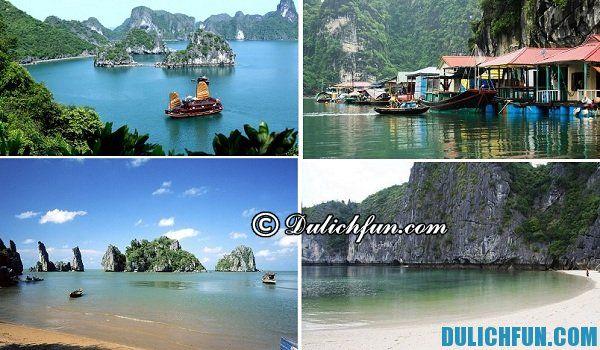 Những địa điểm du lịch đẹp hấp dẫn ở Hạ Long. Kinh nghiệm du lịch Hạ Long cập nhật