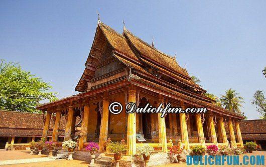 Hướng dẫn du lịch Lào từ a - z: những ngôi chùa nổi tiếng ở Lào