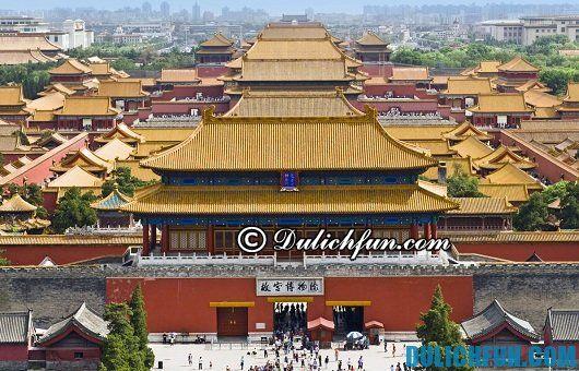 Hướng dẫn du lịch Trung Quốc chi tiết: Nơi du lịch hấp dẫn du khách ở Trung Quốc