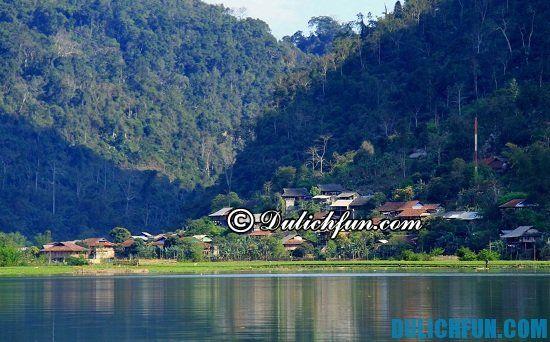 Hướng dẫn lịch trình du lịch hồ Ba Bể: địa điểm du lịch nổi tiếng ở hồ Ba Bể