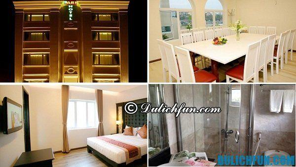 Kinh nghiệm du lịch Quảng Ninh, cách thuê phòng khách sạn tốt giá rẻ Quảng Ninh. Khách sạn Hạ Long Park đẹp, tiện nghi, vị tí thuận lợi