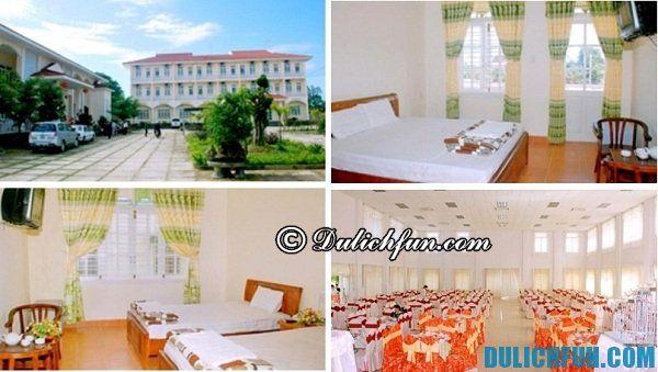 Khách sạn Hương Sư chất lượng tốt, giá cả bình dân, phù hợp cho du khách nghỉ chân khi du lịch Quảng Nam