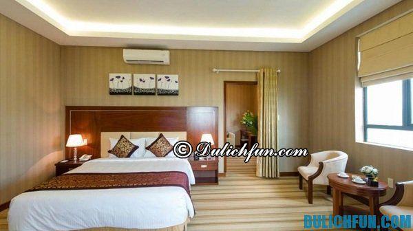 Kinh nghiệm du lịch Quy Nhơn chi tiết: Khách sạn chất lượng cao, tiện nghi, hiện đại, vị trí thuận lợi, phục vụ nhiệt tình ở Quy Nhơn
