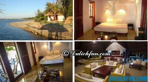 Khách sạn chất lượng tại Quảng Nam, lọt vào top khách sạn đắt nhất, đạt tiêu chuẩn phục vụ 4 sao với đầy đủ tiện nghi, có bãi tắm riêng, điểm view đẹp