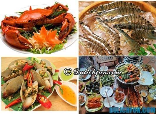 Hướng dẫn du lịch bán đảo Sơn Trà: Kinh nghiệm ăn uống khi đi phượt bán đảo Sơn Trà: nhà hàng hải sản tươi ngon ở bán đảo Sơn Trà