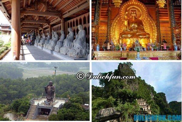 Kinh nghiệm du lịch Bái Đính đầy đủ nhất, hướng dẫn tham quan các điểm tham quan Ninh Bình