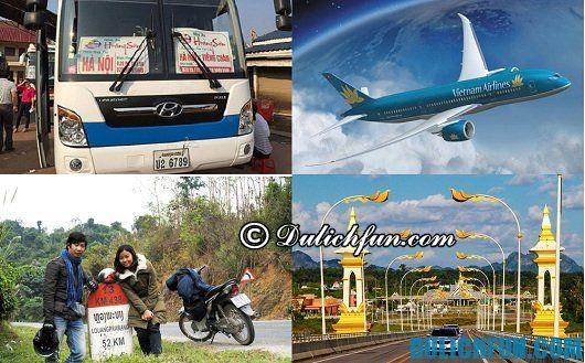 Tư vấn chọn phượng tiện đi du lịch Lào giá rẻ: Hướng dẫn du lịch Lào