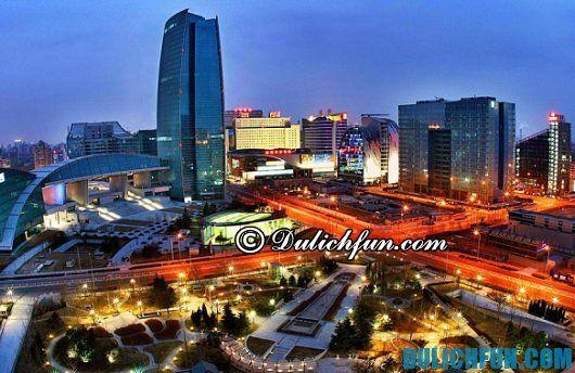 Kinh nghiệm du lịch Trung Quốc tự túc giá rẻ: Cách đi du lịch Trung Quốc tiết kiệm