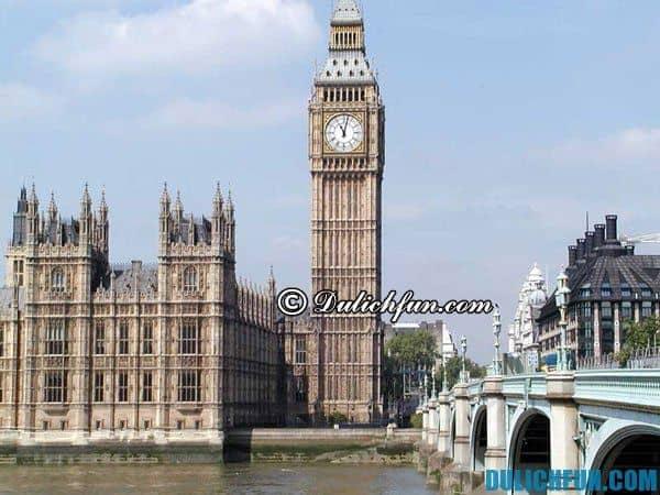 Kinh nghiệm du lịch nước Anh tự túc giá rẻ: cách di chuyển, thuê phòng, địa điểm vui chơi mua sắm ở nước Anh