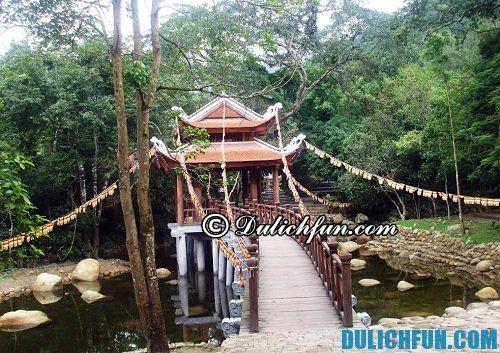 Suối giải oan, chùa giải oan điểm đến du lịch yên tử đẹp nhất