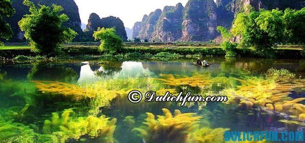 Thời điểm du lịch đầm Vân Long thích hợp nhất trong năm chính là vào mùa hè, thời tiết đẹp thích hợp cho du ngoạn trên mặt hồ trong xanh cùng ngắm sự đa dạng của sinh vật