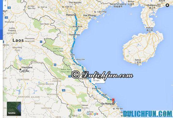 Kinh nghiệm du lịch từ Hà Nội đến Đà Nẵng bằng ô tô xe máy tự túc: Hướng dẫn lịch trình phượt Đà Nẵng từ Hà Nội bằng ô tô, xe máy