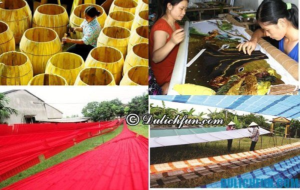 Làng nghề truyền thống ở Hà Nam: làng trống Đọi Tam, thêu ren Thanh Hà, dệt La Xá những điểm đến lý tưởng
