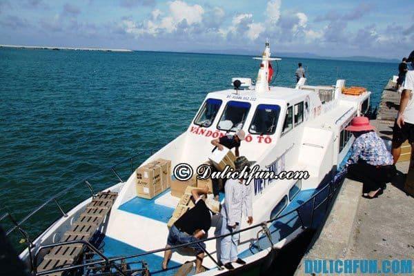 Lịch chạy tàu du lịch đảo Cô Tô mới nhất: Giá vé tàu ra đảo Cô Tô du lịch