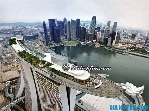 Marina Bay điểm vui chơi nổi tiếng thú vị bạn nên đến khi du lịch Singapore