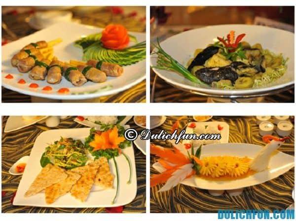 Món ăn đặc sản cá Chình thơm ngon bổ dưỡng. Đây là một trong những món ăn đặc sản của Bình Định thu hút thực khách