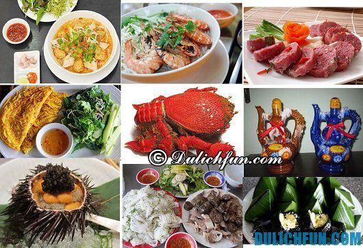 Kinh nghiệm du lịch Bình Định tự túc: Đặc sản du lịch Bình Định: Món ăn ngon nổi tiếng ở Bình Định
