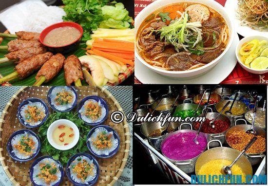 Kinh nghiệm du lịch Đà Nẵng từ Hà Nội: Món ăn ngon trên đường đi du lịch Đà Nẵng từ Hà Nội bằng xe máy, ô tô