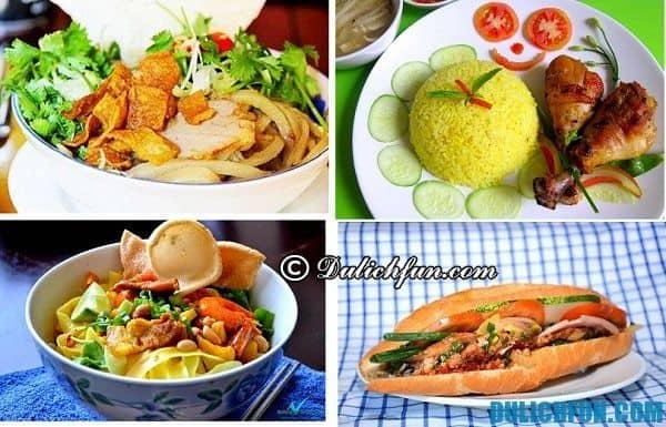 Những món ăn ngon nổi tiếng Hội An như cao lầu, bánh mì Phượng, mì Quảng, gà phố Hội... đang làm nên tên tuổi phố cổ Hội An