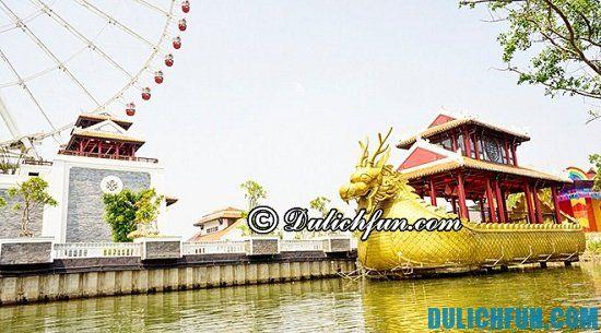 Ngắm cảnh công viên Châu Á Đà Nẵng