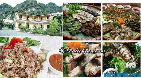 Nhà hàng Ba Cửa Ninh Bình, địa điểm ăn uống ngon giá cực rẻ, tại Ninh Bình
