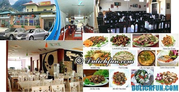 Nhà hàng Hoàng Long chất lượng phục vụ tốt, nhiều món ngon nổi tiếng Ninh Bình, địa điểm ăn uống nổi tiếng ở Ninh Bình