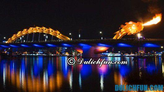 Những cây cầu độc đáo, nổi tiếng và hấp dẫn nhất ở Đà Nẵng