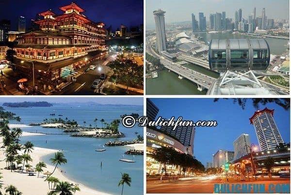 Singapore đất nước của du lịch và phát triển kinh tế với hàng ngàn điểm vui chơi hấp dẫn nổi tiếng thế giới